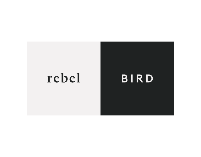 Rebel and Bird-logo